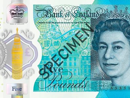 イギリスの紙幣について