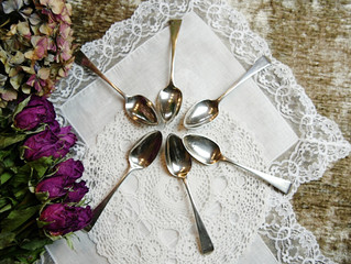 1797年に作られた銀のティースプーン