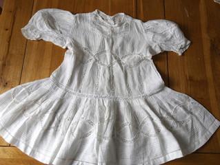 今週の新商品 手仕事に感嘆する ベイビードレス