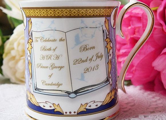 *送料無料* 2013年 ジョージ王子生誕記念 マグカップ