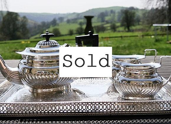 Sold *送料無料* トレイつき ティーポットセット 英国王室御用達メーカー