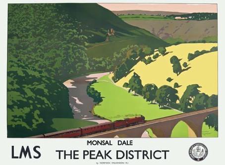 高慢と偏見のロケ地の次は・・・レトロな列車ポスターの背景となった絶景ポイントへ -Monsal Head-