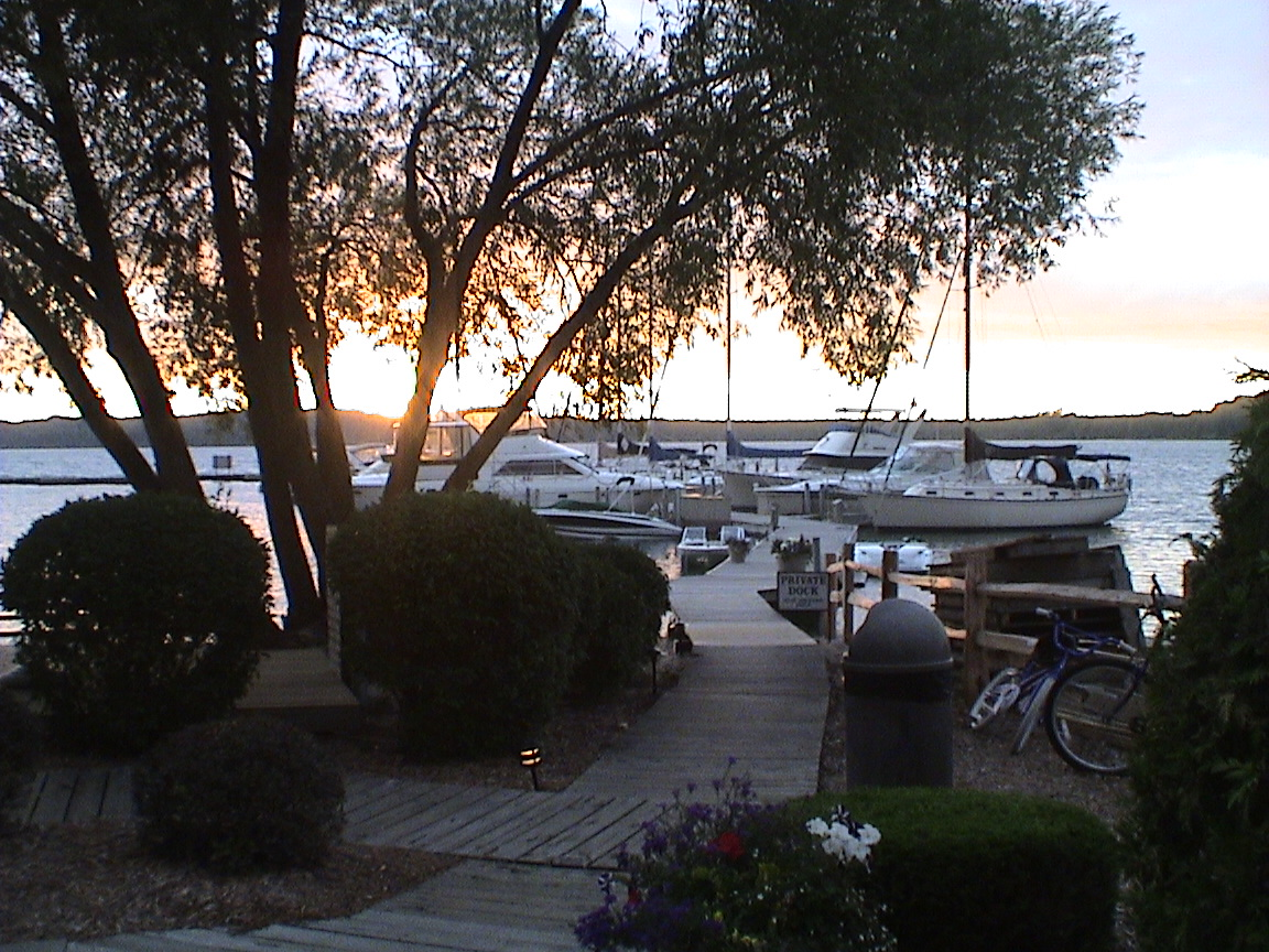 Bowers Harbor sunset