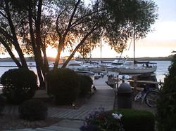 Bowers Harbor sunset