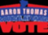 VOTE AARON THOMAS ON NOVEMBER 6TH