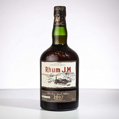 """Très Vieux Rhum Millésime 2007 J.M. """"Brut de fût"""""""