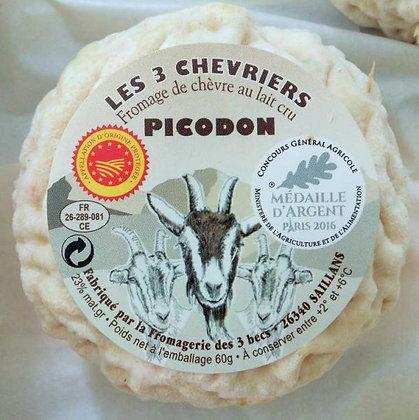 PICODON Frais Fermier AOP au Lait Cru de Chèvre