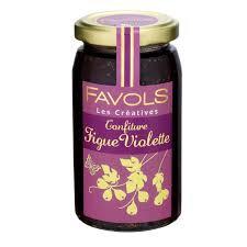 Confiture Figue Violette 100% Fruits - Favols