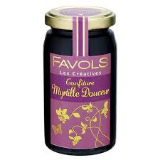 Confiture Myrtille Douceur - Favols
