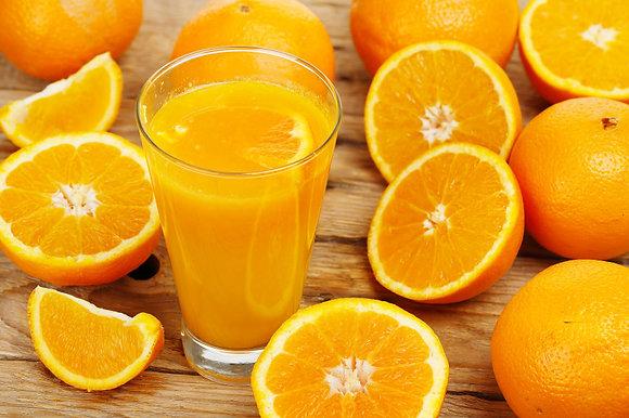 Jus d'Orange Maison fraichement pressé