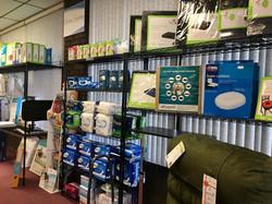 shelf wall left view