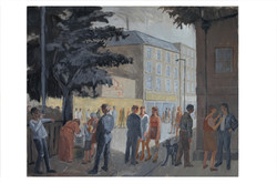 In the high street