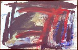 Oil on paper. Splash3