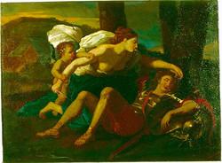 Copy of Poussin's Rinaldo & Armida