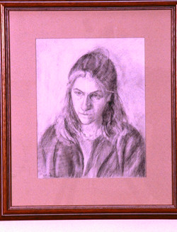 Pencil on Paper. Clare Fisher