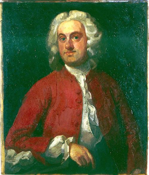 Oil on Canvas. Copy of Hogarth Portrait of a Gentleman