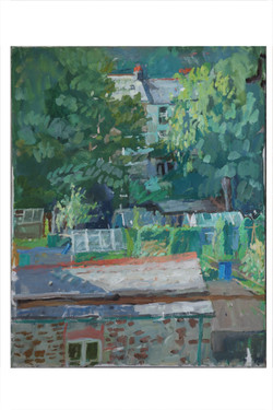 Across the allotments, summer, 2-3pm_