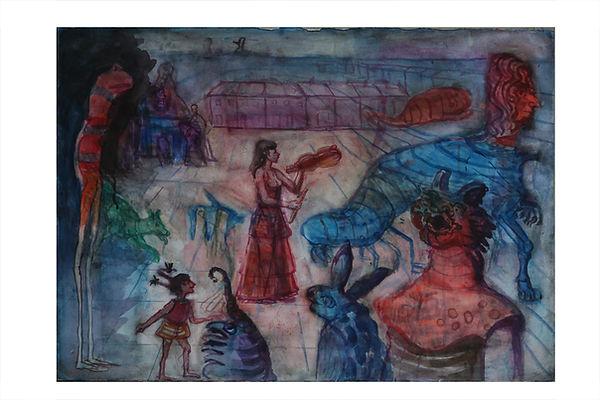 Watercolour. Musical entertainment.jpg