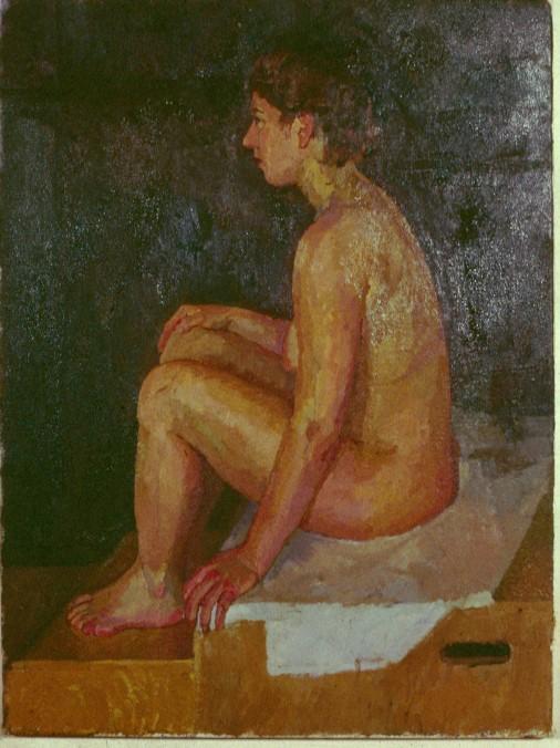 Oil on Canvas. Life Painting JoJo