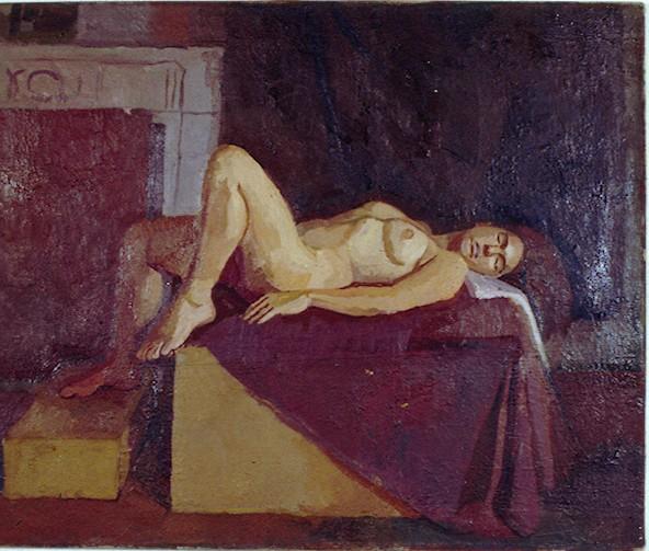 Oil on Canvas.JoJo nude