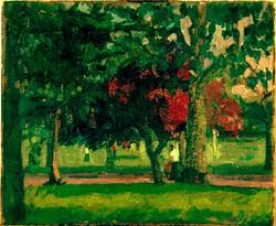 Trees ,Victoria Park Summer.