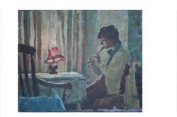 Sorrel playing flute.