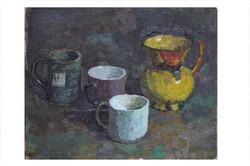 Still-life with Mugs and Jug