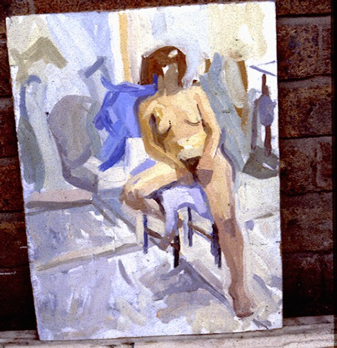 Life painting,Camberwell