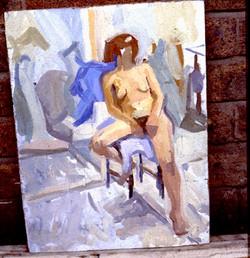 Life painting,Camberwell