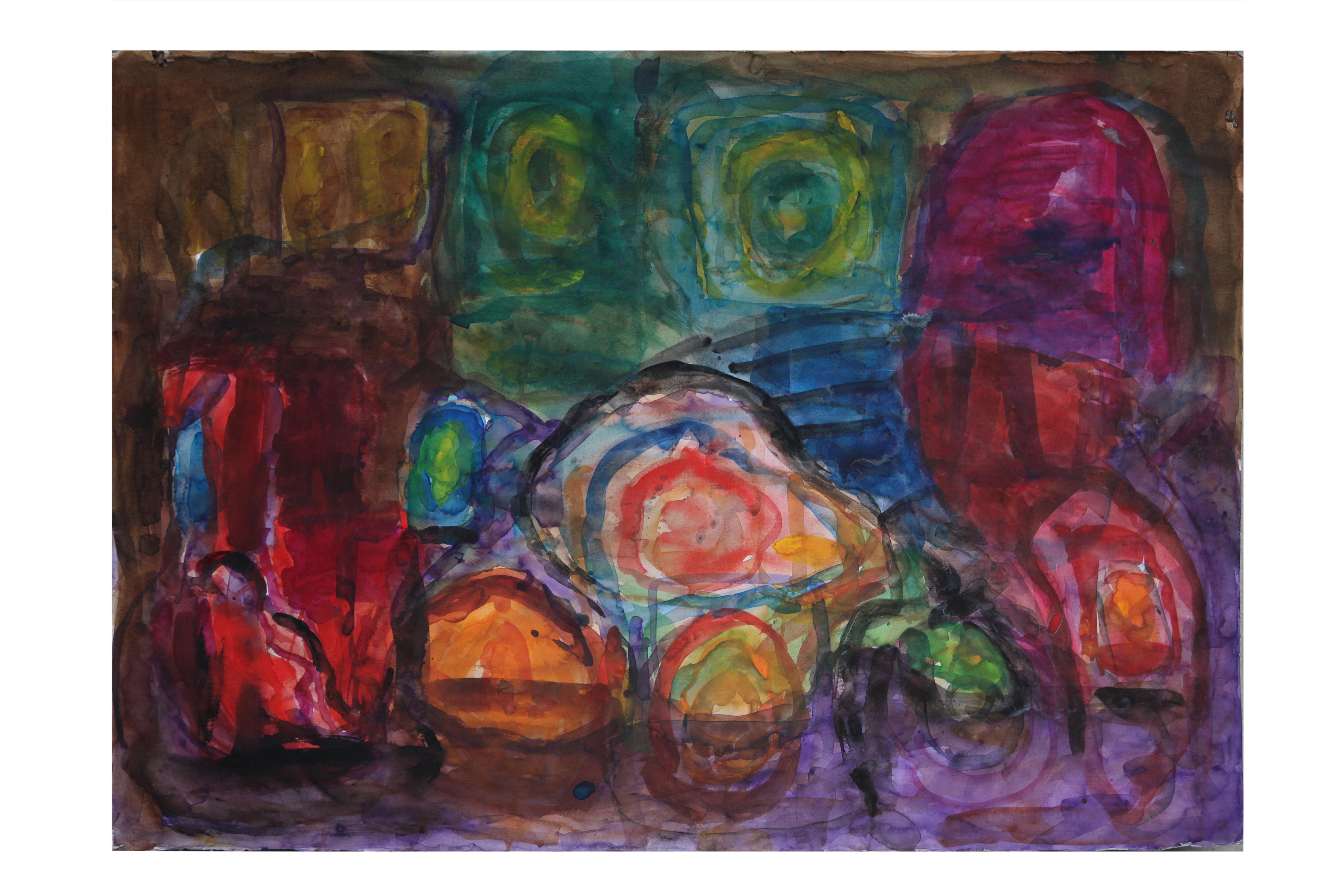 Watercolour on Paper. Splash1