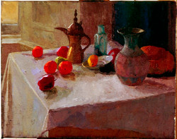 Still life with Coffee pot.