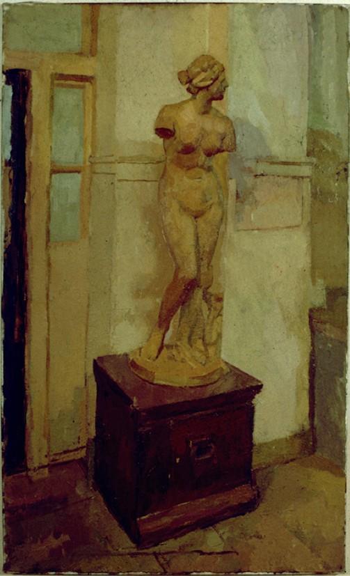 Oil on Canvas.Venus in RA schools Corridor