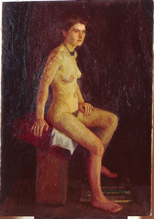 Oil on Canvas. Eve .