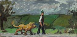 Walking with a lion on Klondyke