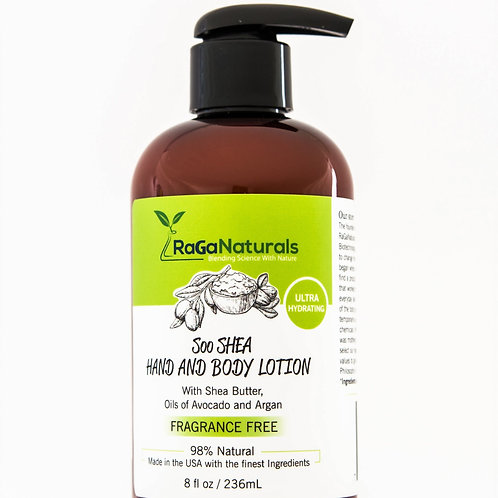 Soo Shea Body Lotion - Fragrance Free