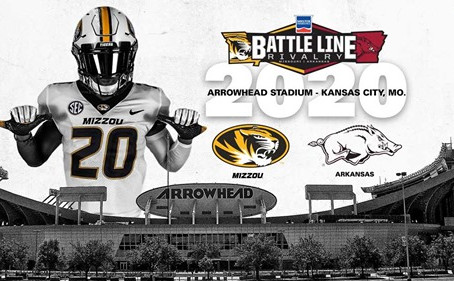 Mizzou will return to Arrowhead in 2020 to face Arkansas on Thanksgiving weekend