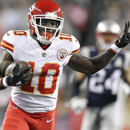 NFL will not suspend Tyreek Hill