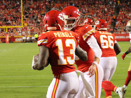 Trip to end zone could bring Byron Pringle one step closer to making Chiefs