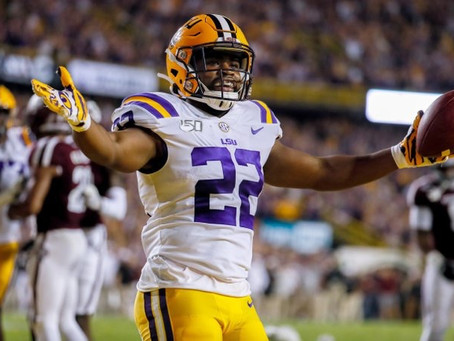 CBS gives Chiefs 'B-' for selecting Clyde Edwards-Helaire at No. 32 overall