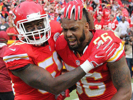 I was lucky enough to witness Derrick Johnson's final touchdown