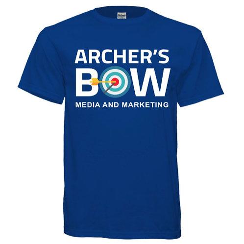Royal Blue Archer's Bow Gildan Ultra Cotton Tee