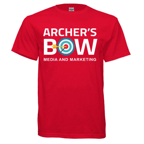 Red Archer's Bow Gildan Ultra Cotton Tee
