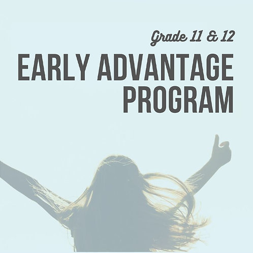 The Early Advantage Program
