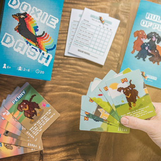 Doxie Dash Card Game