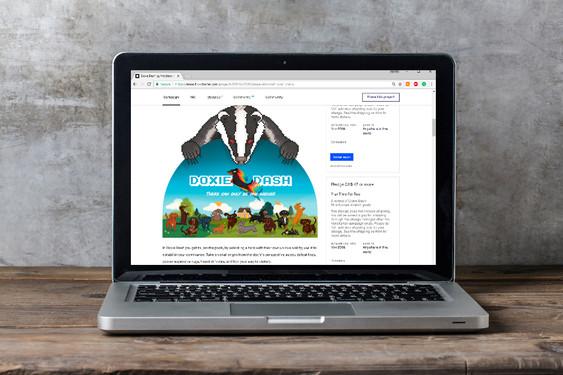 Kickstarter page graphics