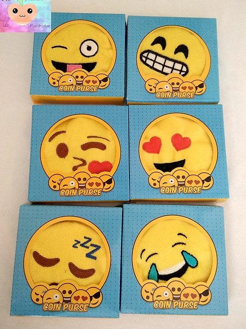 Porte monnaie emoji