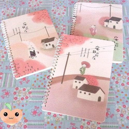 Cahier A5 Chat en kimono