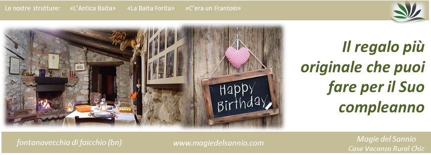 machet magie del sannio compleanno