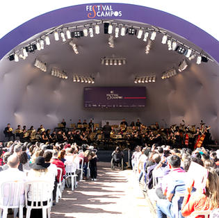 Orquestra Sinfônica no Festival de Inverno Campos do Jordão
