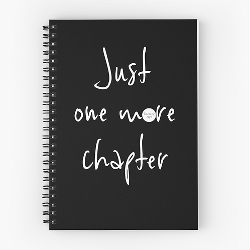 Writer's journal - Just one more chapter